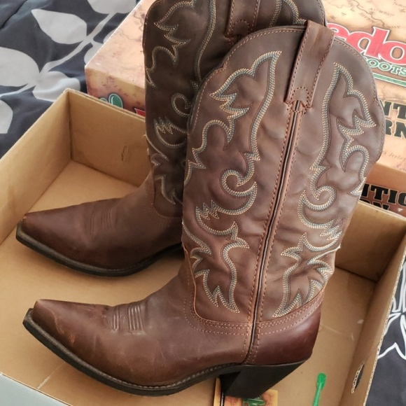 Laredo Wide Calf Vintage Ladies Boots